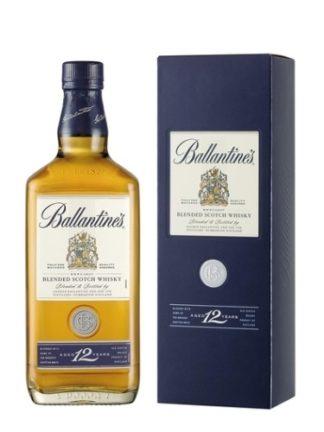 Ballantine's 12 Years 1 L   ยกลัง 12 ขวด 12120 บาท