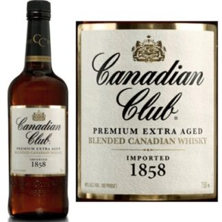 Canadian Club Original 750 ML   ยกลัง 12 ขวด 6500 บาท (40%)