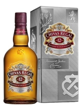 Chivas Regal 12 Years 1 L   ยกลัง 12 ขวด 11000 บาท