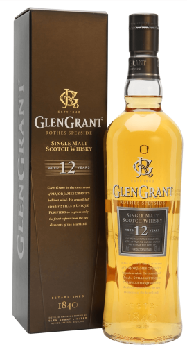 Glen Grant 12 Years 750 ML   ยกลัง 12 ขวด 18000 บาท