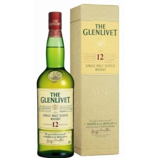 Glenlivet 12 Years Old 1 L ซิงเกิ้ลมอลต์ single malt ยกลัง 12 ขวด 19000 บาท (40%)