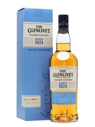 Glenlivet Founder's Reserve 750 ML   ยกลัง 12 ขวด 13240 บาท