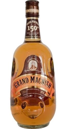 Grand Macnish 150th Anniversary 1 L   ยกลัง 12 ขวด 11500 บาท (40%)
