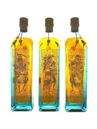 Johnnie Walker Blue Label 3 Gods of Wealth 1 L   ยกลัง 3 ขวด 28000 บาท