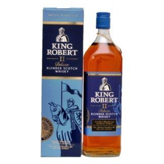 King Robert II Deluxe 1 L   ยกลัง 12 ขวด 7500 บาท (43%)
