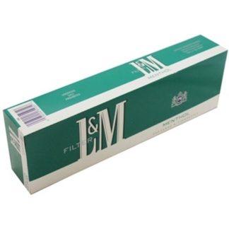 L&M menthol  บุหรี cigarette
