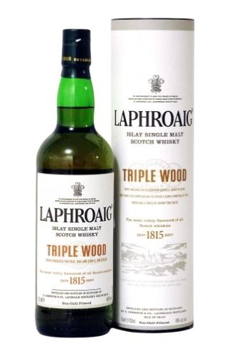 Laphroaig Triple Wood 700 ML   ยกลัง 6 ขวด 11500 บาท