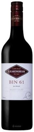 Leasingham Bin 61 Shiraz  ไวน์ wine ยกลัง 12 ขวด 12500 บาท