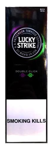 Lucky Double Purple    (Tar : 8mg Nicotine : 0.6mg USA)