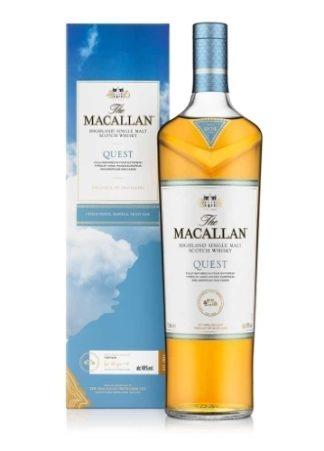 Macallan Quest 1 L   ยกลัง 12 ขวด 25200 บาท (40.0%)