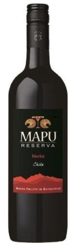 Mapu Reserva Merlot    ยกลัง 12 ขวด 6500 บาท