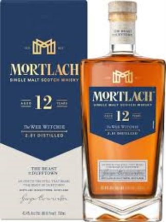 Mortlach 12 Years 750 ML   ยกลัง 12 ขวด 19500 บาท