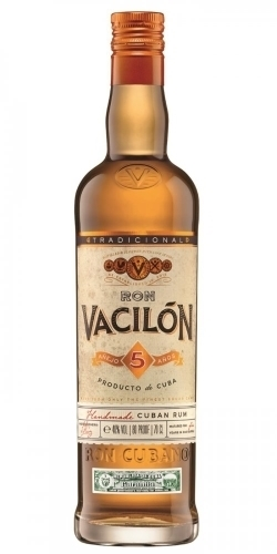 Ron Vacilon 5 Anos 700 ML ลิเคียว (ก่อนอาหาร) liquor ยกลัง 12 ขวด 8700 บาท (40%)