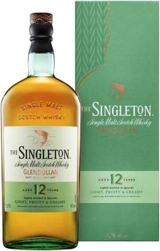 Singleton Glendullan 12 Years Old 1 L ซิงเกิ้ลมอลต์ single malt ยกลัง 12 ขวด 17800 บาท (ลัง 6 ขวด 9300 บาท - 40%)