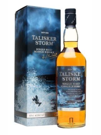 Talisker Dark Storm 700 ML ซิงเกิ้ลมอลต์ single malt ยกลัง 12 ขวด 16000 บาท (45.8%)