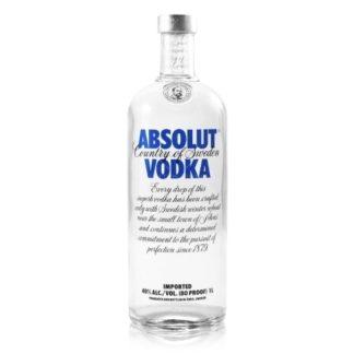 Absolut Vodka Orginal 1 L วอดก้า / เตกีล่า vodka / tequila ยกลัง 12 ขวด 7500 บาท