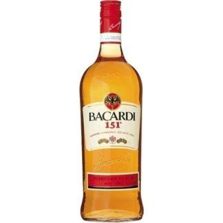 bacardi 151 1 L วอดก้า / เตกีล่า vodka / tequila
