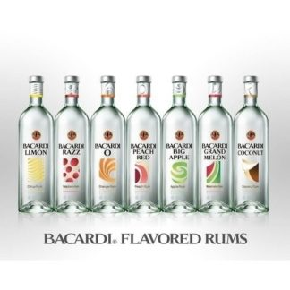 bacardi flavored rums 1 L วอดก้า / เตกีล่า vodka / tequila