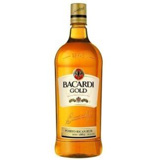 Bacardi Gold Rum 1 L วอดก้า / เตกีล่า vodka / tequila ยกลัง 12 ขวด 7300 บาท