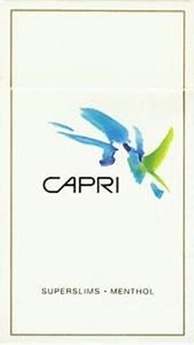 capri superslims menthol  บุหรี cigarette