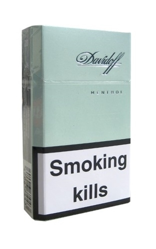 davidoff menthol  บุหรี cigarette