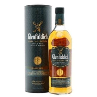 glenfiddich select cask 1 L ซิงเกิ้ลมอลต์ single malt ยกลัง 12 ขวด 17200 บาท