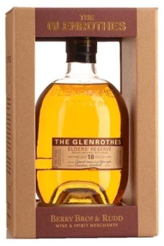 Glenrothes 18 Years Elders' Reserve 700 ML ซิงเกิ้ลมอลต์ single malt ยกลัง 12 ขวด 28000 บาท