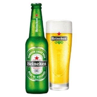 heineken ขวดใหญ่ เบียร์ beer ยกลัง 12 ขวด 1010 บาท