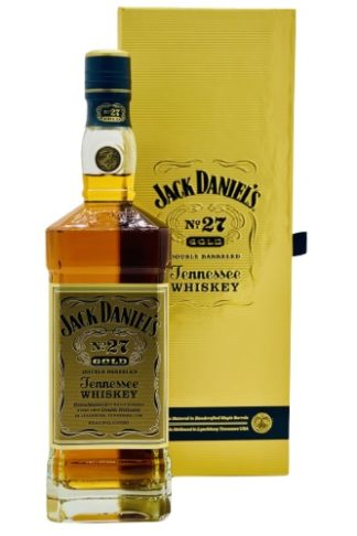 Jack Daniel's No. 27 Gold 750 ML เหล้า whiskey ยกลัง 12 ขวด 22000 บาท
