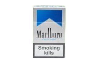 marlboro crispt mint  บุหรี cigarette (1cott)