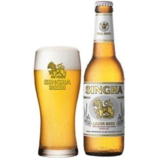 singha beer ขวดใหญ่ เบียร์ beer ยกลัง 12 ขวด 1340 บาท