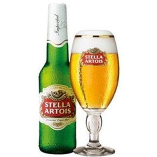 stella artois 330 ML เบียร์ beer ยกลัง 24 ขวด 2800 บาท